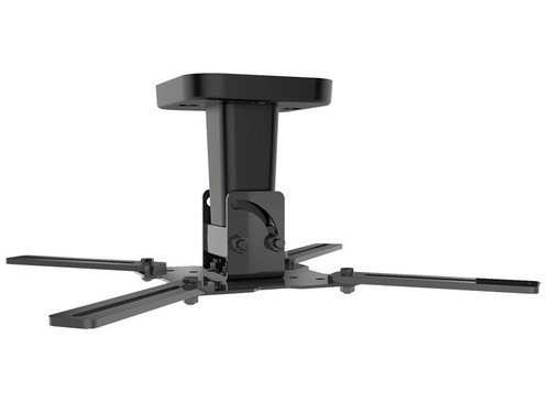 Pro 100 - Supporto da soffitto per TV/videoproiettore [15 kg] - nero