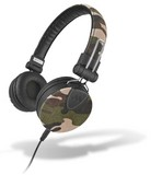 MySound: SpeakDenim Stereo Headphones w/ Microphone - camouflage