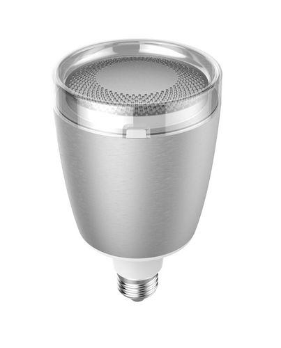 Pulse Flex (LED + JBL Speaker) [E27, 470lm,2700k] - silver