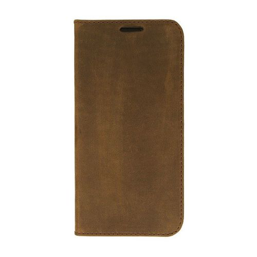 Galaxy S7 / Valenta Leather Booklet Classic Style - vintage brown