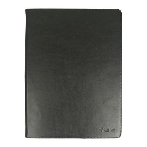 Valenta Universal Tablet Leather Booklet Classic [Large, 9.0-12.2in] - black