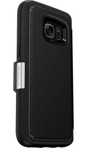 Galaxy S7 / Otterbox Strada 2.0 Series - black leather