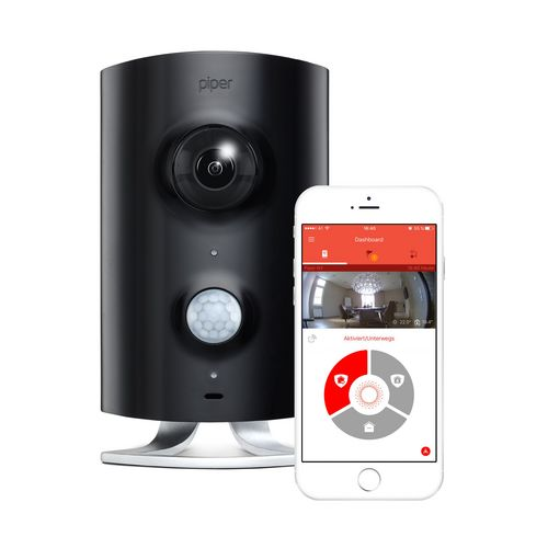 Piper Classic - Home Security Wireless Cam - black