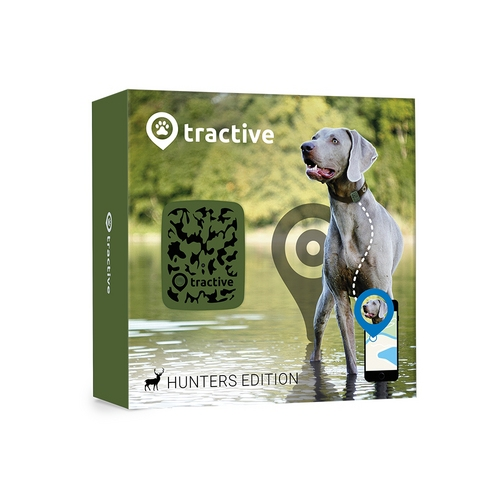 Tractive GPS Pet Tracker Jagd Edition - camouflage