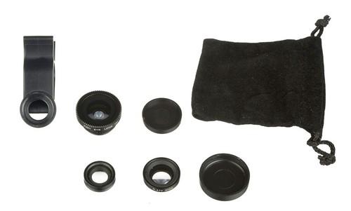 Kitvision 3 in 1 Lens Set - Clip on Lens for Smartphones