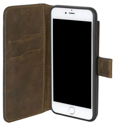 Scutes Booklet Case 2in1 - iPhone 6 / 7 / 8 Plus - antic brown