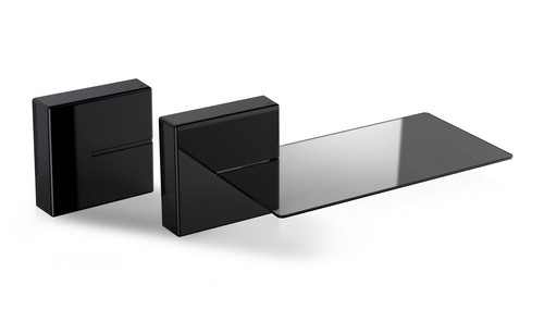 Ghost Cubes: SHELF (1x Shelf, 2x Cubes) - black