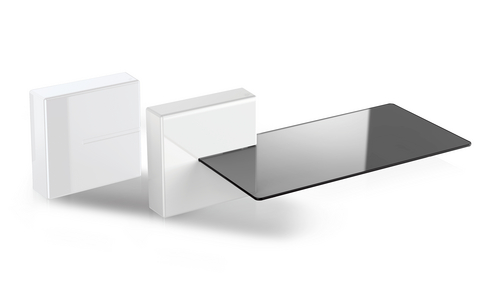 Ghost Cubes: SHELF (1x Shelf, 2x Cubes) - white