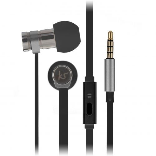 KitSound Nova Earphones - black