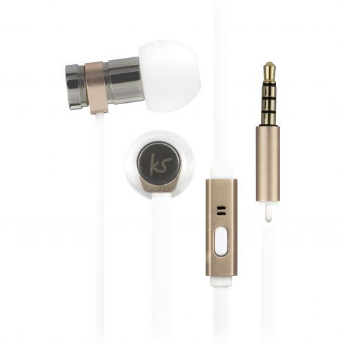 KitSound Nova Earphones - gold