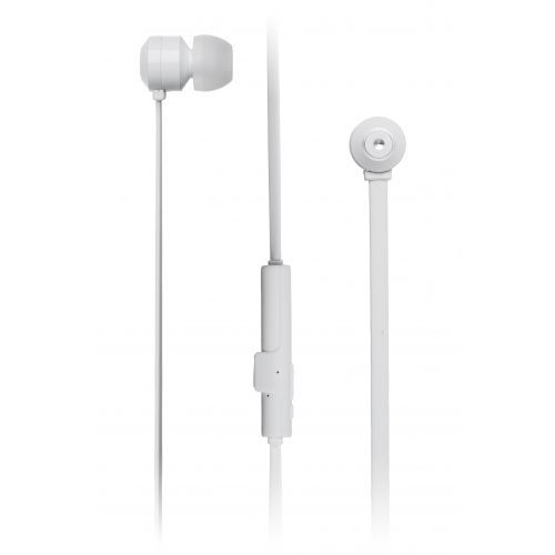 KitSound Ribbons BT Earphones inkl. microphone - white