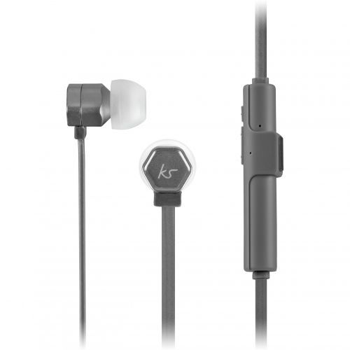 KitSound Hive Bluetooth Earphones - gun metallic