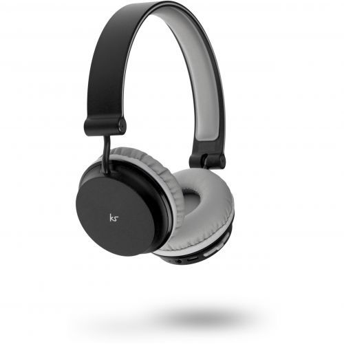 KitSound Metro Bluetooth Headphones - black