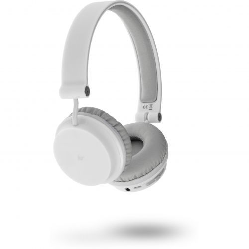 KitSound Metro Bluetooth Headphones - white