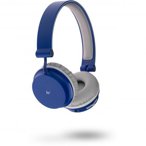 KitSound Metro Bluetooth Headphones - blue