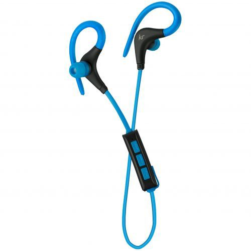 KitSound Race Bluetooth Earphones - blue