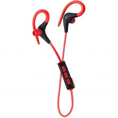 KitSound Race Bluetooth Headphones - red