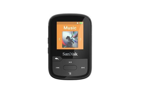 SanDisk Clip Sport Plus 16 GB [Spritzwassergeschützt] - black