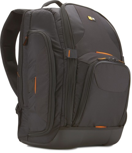 Case Logic DSLR Camera large Backpack - black/orange