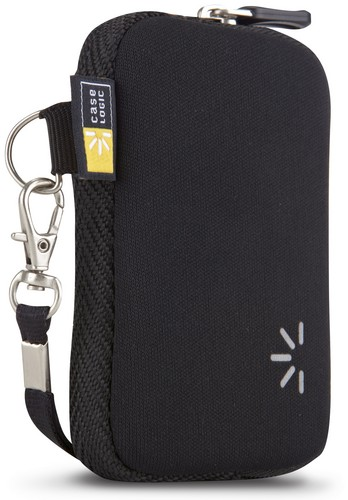 Case Logic small Pocket Camera Case with Wrist Strap - black