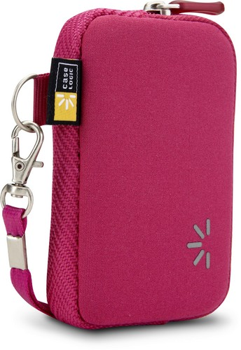 Case Logic small Pocket Camera Case with Wrist Strap - pink