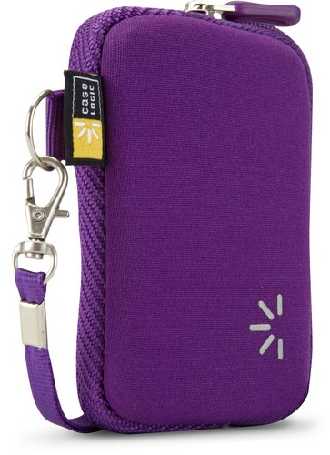 Case Logic small Pocket Camera Case with Wrist Strap - purple