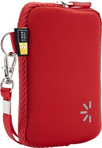 Case Logic small Pocket Case with Wrist Strap - red