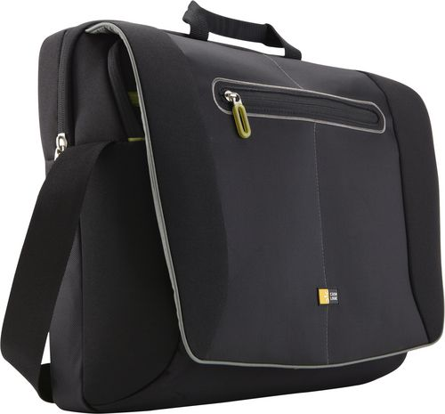 Case Logic Slim Briefcase [17 inch] - black/green