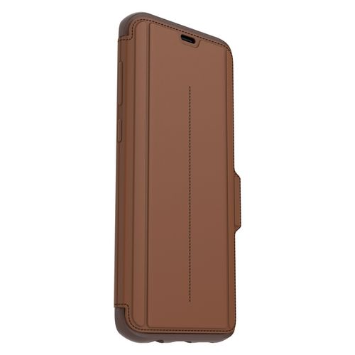 Otterbox Strada Series - Galaxy S8+ - burnt saddle brown