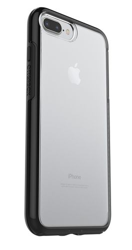 Otterbox Symmetry Clear Series - iPhone 7 / 8 Plus - black crystal