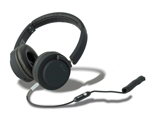 MySound: Speak Pro Headphone w/ Microphone - black