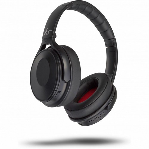 KitSound Immerse Over Ear Bluetooth Headphones - black