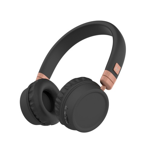 KitSound Harlem Wireless Bluetooth Headphones - grey