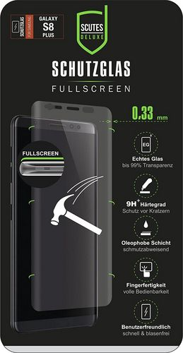Scutes 3D Glass Screen Protector - Galaxy S8+