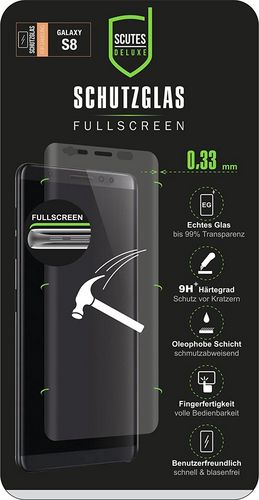 Scutes 3D Glass Screen Protector - Galaxy S8