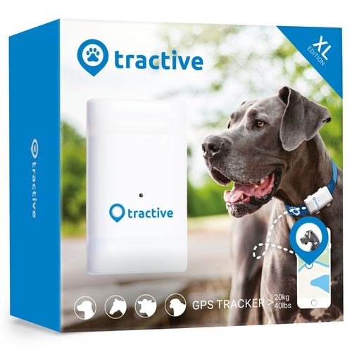 Tractive GPS XL Pet Tracker - white