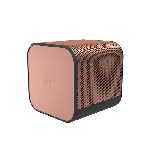 KitSound BoomCube Portal BT Wireless Speaker - rose gold