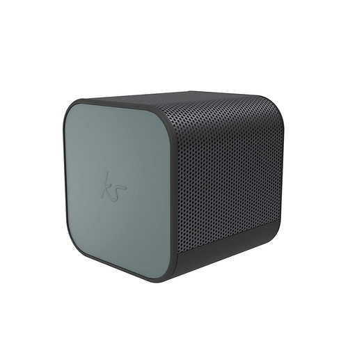 KitSound BoomCube Portal BT Wireless Speaker - gun metal