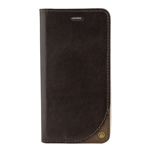 Supreme: iPhone 8/7/6/6s Plus / Valenta Leather Booklet - brown