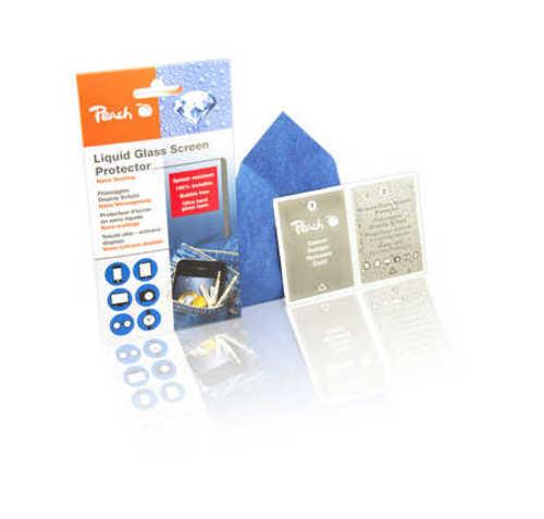 Peach Liquid Glass Screen Protector