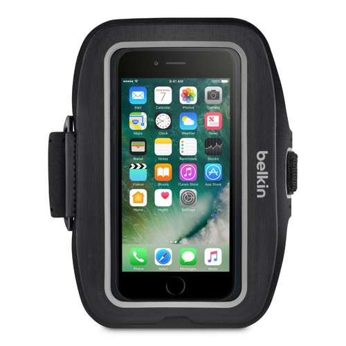Belkin Sport-Fit Plus Armband - iPhone 7 / 8 - black