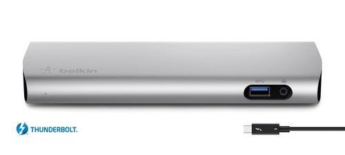 Belkin Thunderbolt 3 Express Dock HD (Mac) [40 Gbps]
