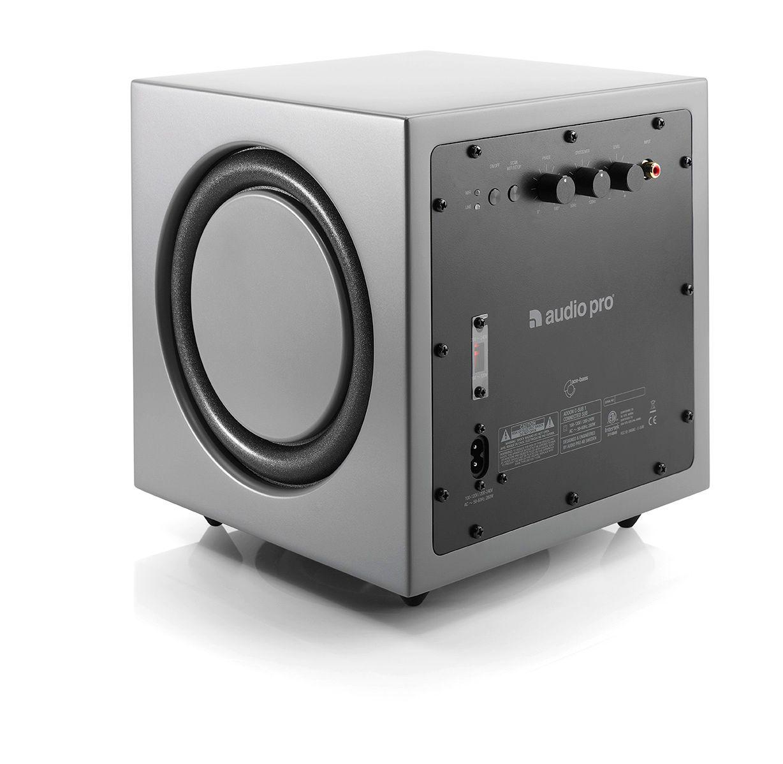 audio pro addon c sub wireless subwoofer grau. Black Bedroom Furniture Sets. Home Design Ideas