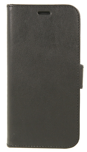 Valenta Leather Booklet Classic Luxe - iPhone X/XS - black