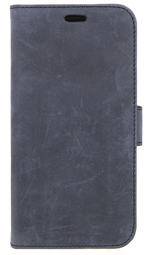 Valenta Leather Booklet Classic Luxe - iPhone X - vintage blue