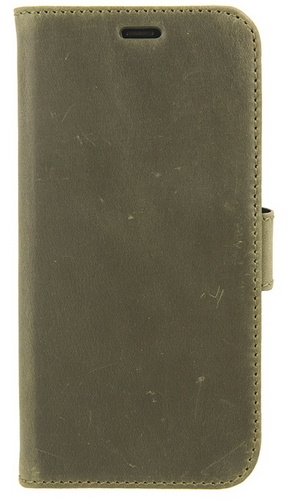 Valenta Leather Booklet Classic Luxe - iPhone X - vintage green