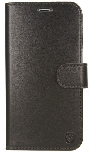 Valenta Leather Booklet Premium - iPhone X - black