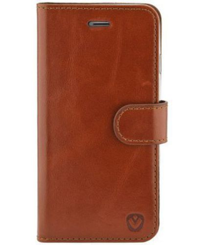 Valenta Leather Booklet Premium - iPhone X - brown