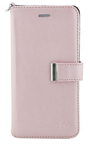 Valenta Leather Booklet Premium - iPhone X - rose