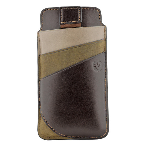 Valenta Leather Pocket Supreme - iPhone X - brown